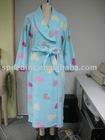 Super soft fleece bathrobe