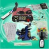 Beginner Tattoo Eximious Kit Power Supply Tattoo Gun Needle Ink WS-K102-2