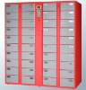 Knock Down Structure Electronic Storage Locker