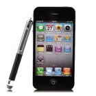 Dual-Purpose with Micro-Knit Technology Capacitive Stylus pen for iphone4 ipad Samsung Galaxy