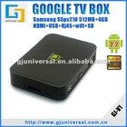 Google TV Set Top Box, Android 2.2 Google TV, WiFi HD Internet TV Box S5PV210 with Flash Player