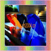 best gift fashion umbrella led flashing umbrella