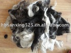 mixed colour washed yak hair