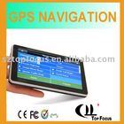 X7A 5 inch multimedia function gps car gps locator navigation equipment