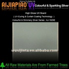 UV coated colourful particle board