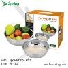 2 pcs/set rice sifer;bowl;salad bowl;