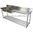 304 stainless steel sink bench