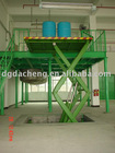 hydraulic stationary scissor lift