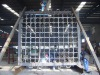 huge welded frame for casting