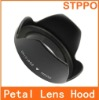lens hood 72mm flower petal lens hood for DSLR camera