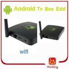 Android tv box e66 2.3 mini internet google tv box smart receiver