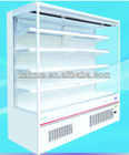Multi-deck Supermarket Refrigerator with Air Curtain