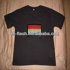 illuminated led t-shirt