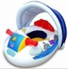 PVC Inflatable bady seat toy