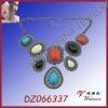 Fashion Colorful Bib Necklace