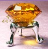 topaz crystal diamond napkin ring & crystal napkin holder