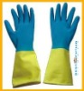 pvc coated working glove