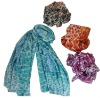 Fashion Silk Scarves Charmeuse silk scarf Hot scarves for lady 2012