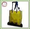 trolley bag with laminated pp woven material