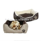 Soft PU Fabric Pet Bed