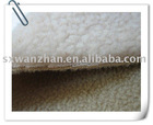 lamb fur bounding with polar fleece fabric