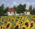 Art Canvas/ Gloss Polyester Oil Painting Canvas