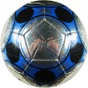 laser silver effect promotion soccer ball