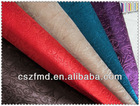 2014 new Embossed fleece fabric for shoe ,bag ,cover