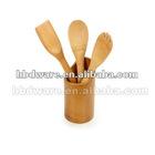 Bamboo spoon holder