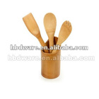 Bamboo spoon holder