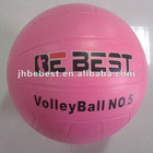 New bebest hungriness best quanlity size 5 hot sell 2014 color and white rubber volleyball