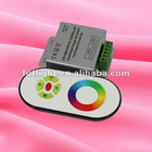 High quality DC12V/24V RF Wireless RGB LED Controller with Touch Remote