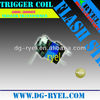 Trigger coil for flash bulb