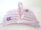 Lilac Satin Hangers