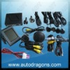 LCD parking sensor with video