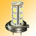 Deguang super bright led auto lamp h7