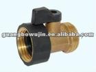 1-way brass hose shut off