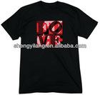 OEM City Men's F-U-C-K L-O-V-E printing O-neck T shirt