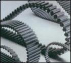 Narrow v-belt, rubber belt