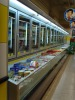 Freezer with glass doors/refrigerated showcase/display case