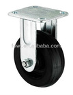 Iron-core A type fixed industrial rubber wheel