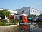 Dong feng flat-roof Fire fighting Truck
