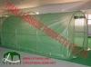 3x6m steel structure greengrid pe cloth Greenhouse