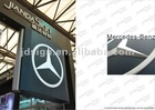 led illuminated outdoor advertising equipment for sale