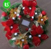 Christmas wreath with lingting