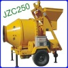 JZC250 mobile concrete mixer with motor