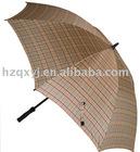 polyester fabric metal shaft golf umbrellas