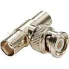 "BNC Coupler Splitter Connector - BNC ""T"" Adapter 1 Male to 2 Female"