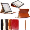 for ipad2 stand leather cover
