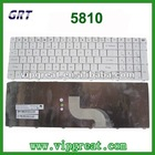 New for Acer Aspire 5810 5810T 5536 5536G 5738 Keyboard White